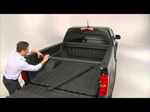 Chevy Colorado Pickup >> 2016 Chevrolet Colorado How To Install GearOn Cross Rails & Cargo Divider - YouTube