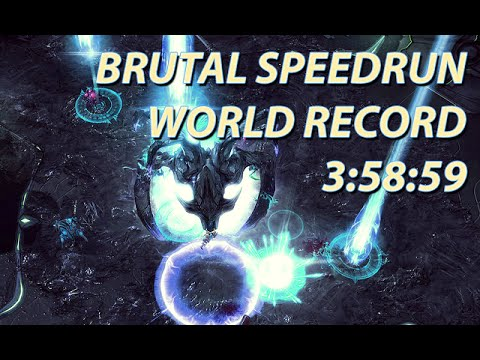 Speedrun Starcraft 2: LotV Brutal Any% world record