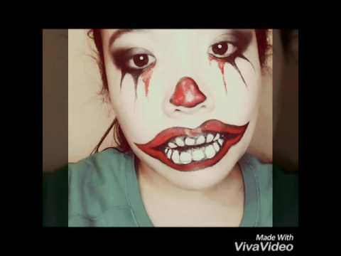 Crazy Clown make up with SeneGence - Staying power!