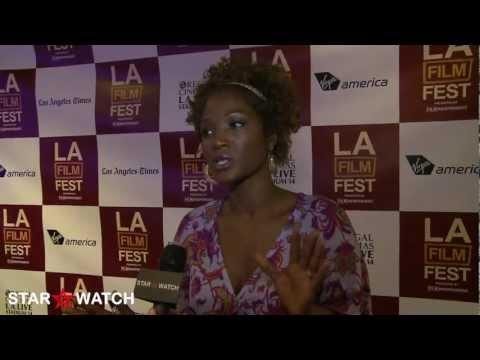 Yolonda Ross red carpet  at 2012 Los Angeles Film Festival