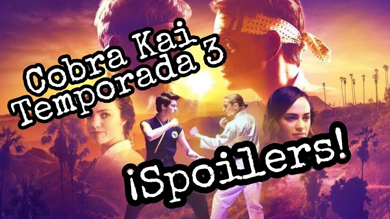 Cobra kai - Temporada 3 (Opinión) Con Spoilers!