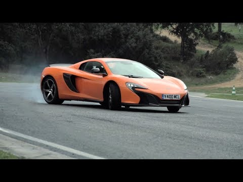 McLaren 650S: Track Driving, Sliding & Tech Interview - Chris Harris On Cars