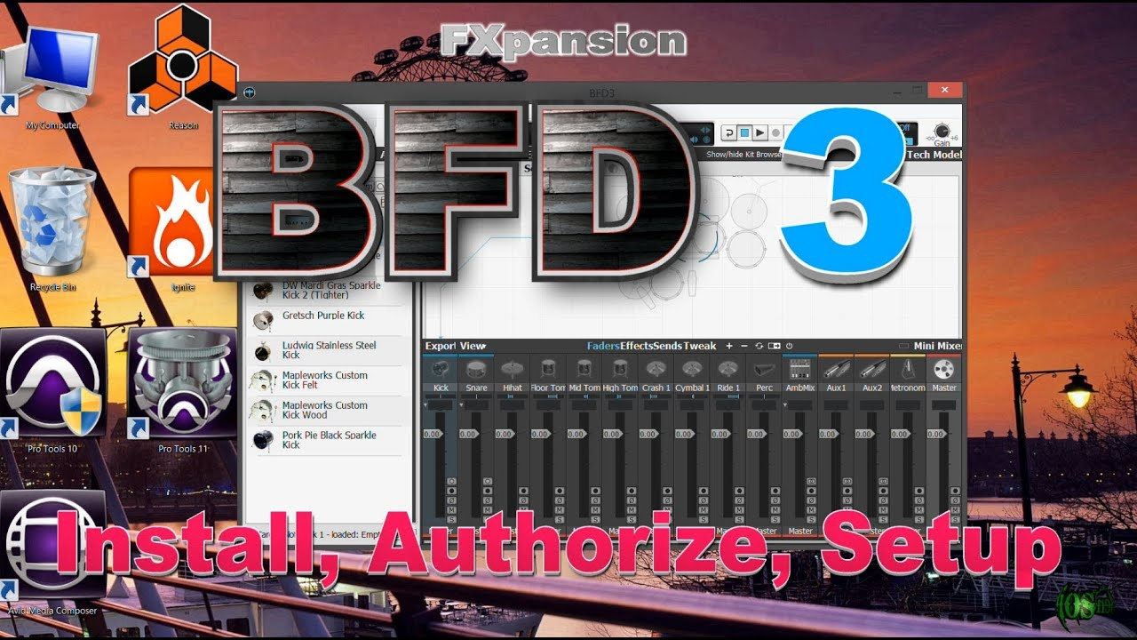 FXpanison BFD3 - Install, Setup, Authorize