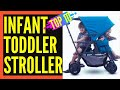Top 10 Best Double Stroller For Toddler and Infant || Best Double Stroller Reviews