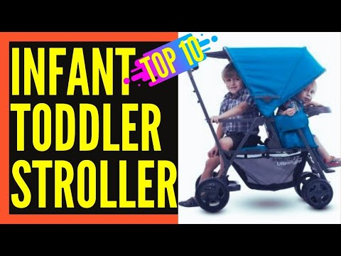 Best Double Stroller For Toddler and Infant || Best Double Stroller 2018