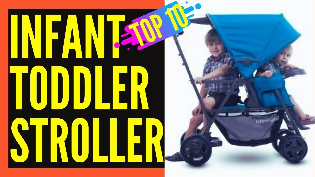Best Double Stroller For Toddler and Infant || Best Double ...