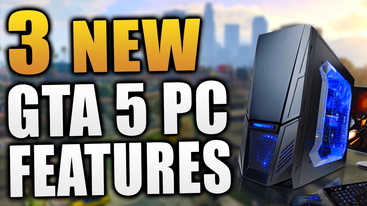 GTA 5 PC – THREE Brand NEW Features! – Custom Radio Stations