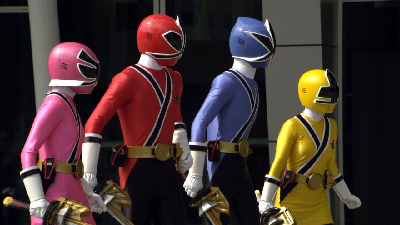 Power Rangers Samurai - The Team Unites - Power Rangers vs ...