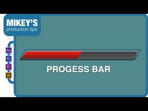 After Effects Progress Bar