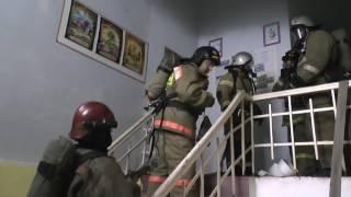 Пожар Авиационный техникум
