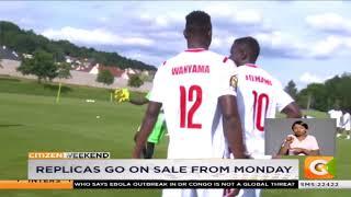 Harambee stars AFCON kit
