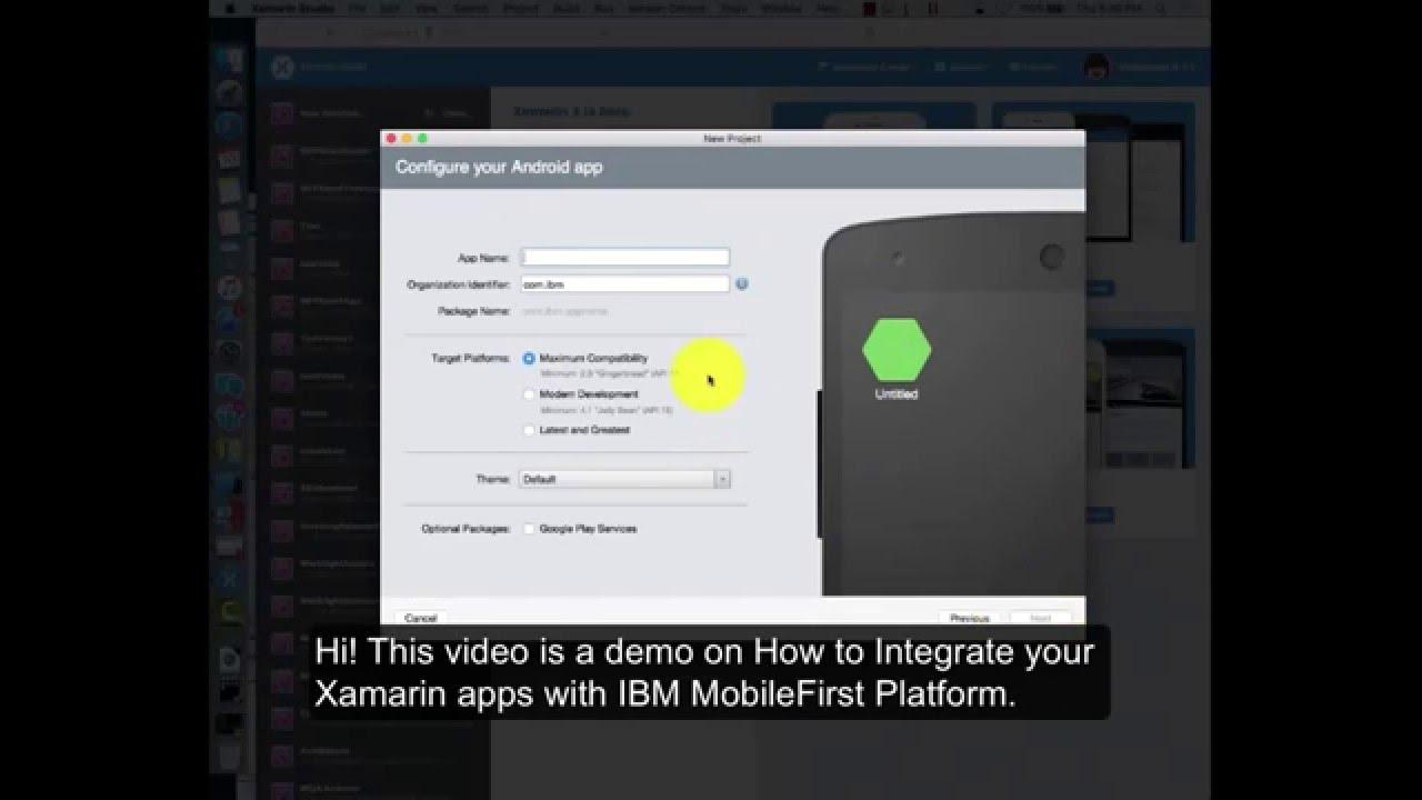 Integrating Xamarin Apps With IBM MobileFirst Platform