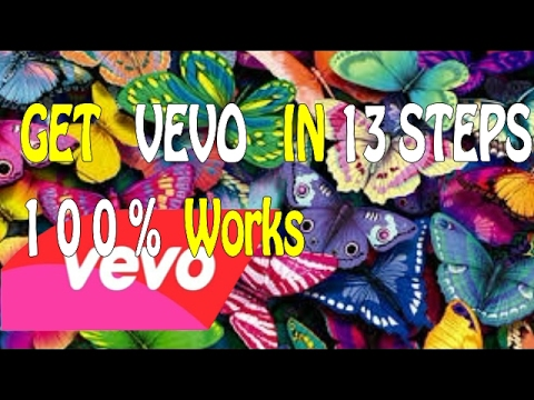 Get Your Vevo Account In 13 - Steps | Get Your Channel Now Hurry !!!!!