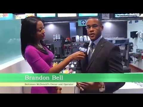 Chardelle Moore Interviews Brandon Bell, Baltimore McDonalds's owner