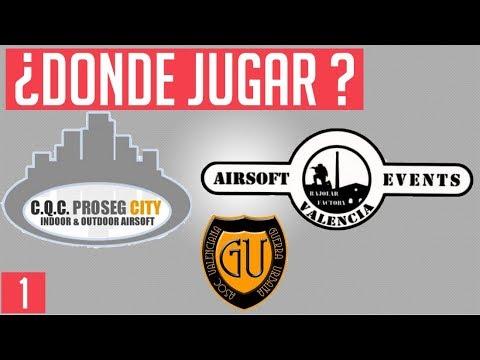 Principiantes // ¿Donde Jugar en Valencia?  // Sproters Airsoft (Parte 1)