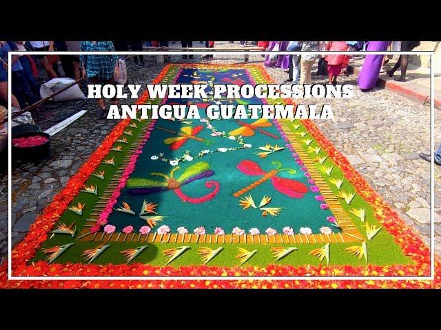 HOLY WEEK PROCESSIONS, Antigua Guatemala, Guatemala