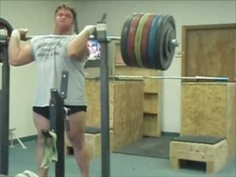 600 pound Front Squat *** RAW *** 272 5 kg