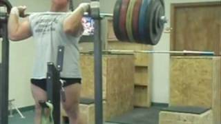 600 pound Front Squat    *** RAW ***  272.5 kg