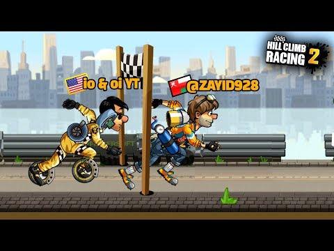 Hill Climb Racing 2 - Cartoon Animation #1 - Drivers Race