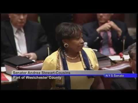 State Sen. Andrea Stewart-Cousins's closing remarks for the 2015 legislative session June 25.