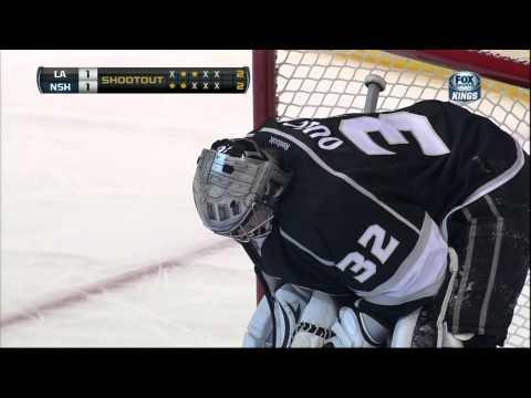 Shootout 31 Jan 2013 Nashville Predators vs LA Kings NHL Hockey