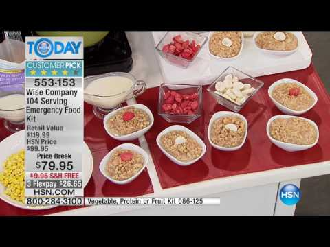 HSN | HSN Today: As Seen On TV featuring Wise Foods 04.24.2017 - 07 AM