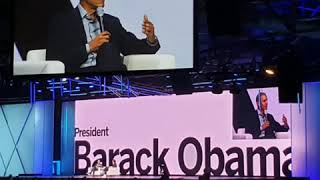 President Obama at the Qualtrics X4 Summit  3/6/2019