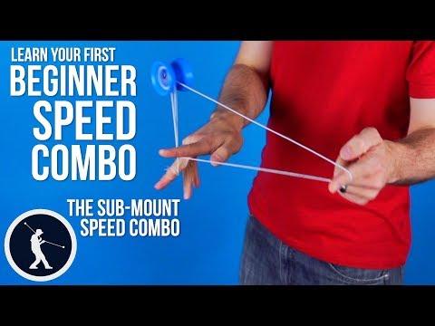 Easy Beginner Speed Combo - Sub-Mount Yoyo Trick