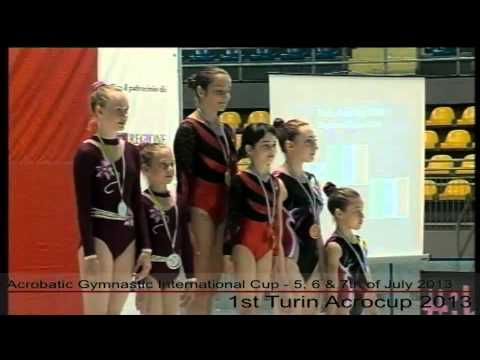 1st Turin Acrocup   Acrobatic Gymnastic International Cup   Day 3   part 2