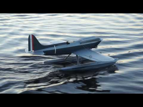 Supermarine S6-B Scale 1/5, Taxi-test.
