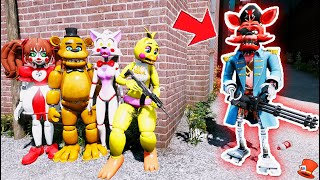 Can the Animatronics BEAT the Evil CAPTAIN FOXY MONSTER Animatronic? (GTA 5 Mods FNAF RedHatter)