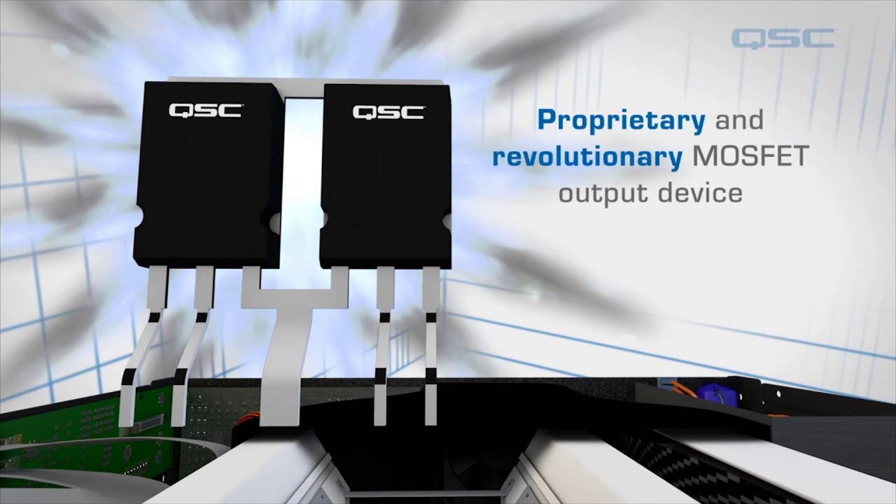 QSC PLD and CXD Amplifiers - Inside Look Overview | Full Compass