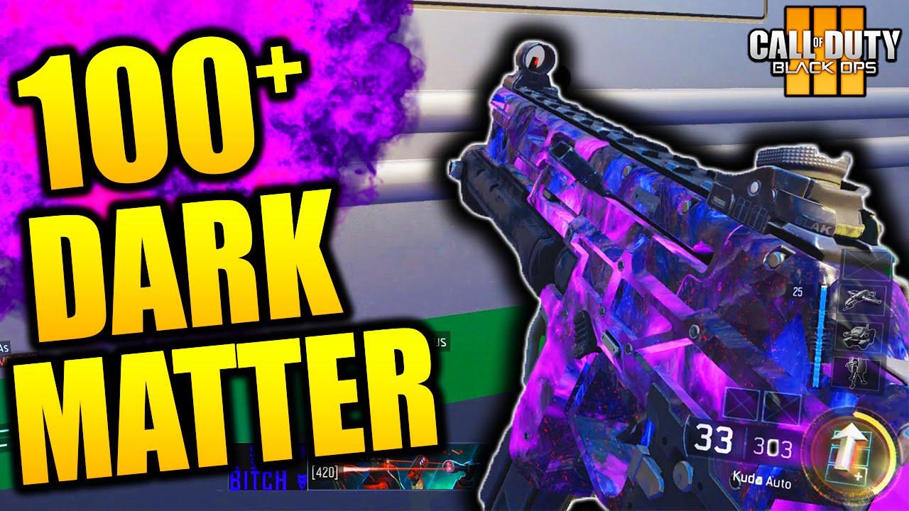 how to kill dark blobs