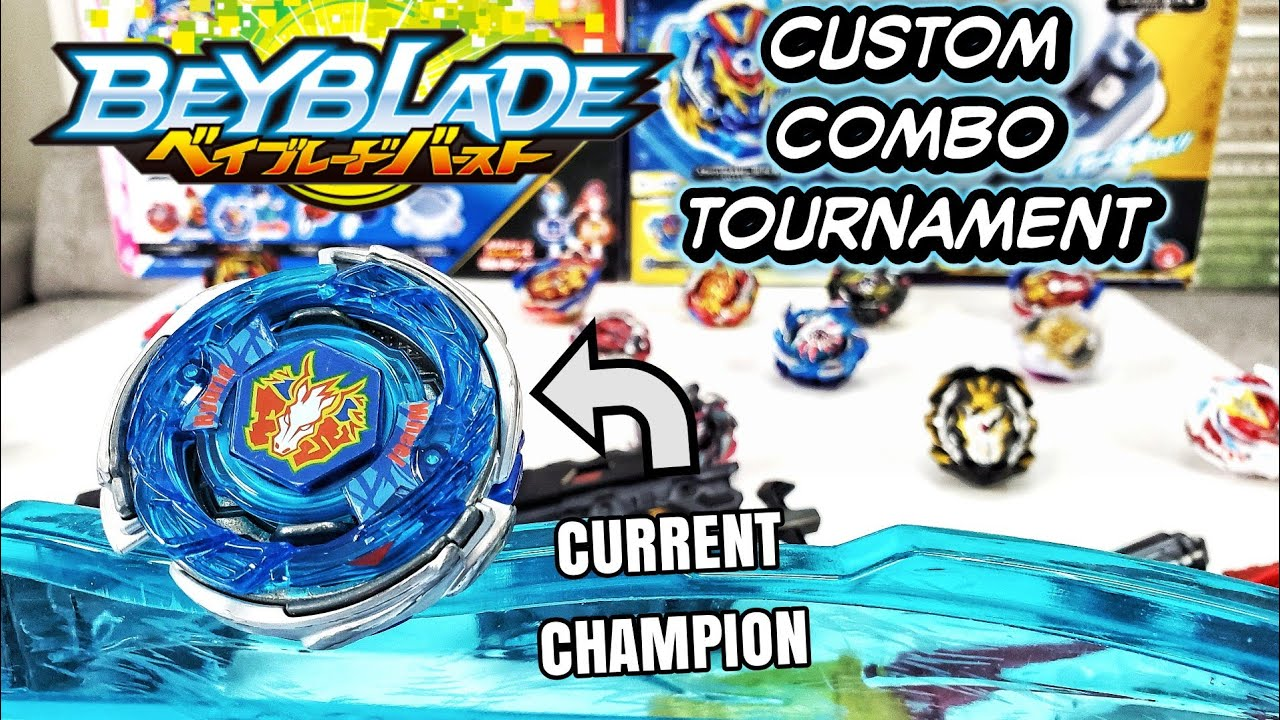 Can You Beat The Champ? BEYBLADE BURST Custom Combo Subscriber Series Tournament