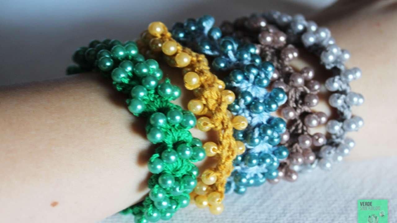 Ben noto Crea dei Braccialetti con Perline all'Uncinetto - Fai da Te Style  EB78