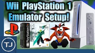 The Best Wii PlayStation Emulator! (WiiSXR Setup!)