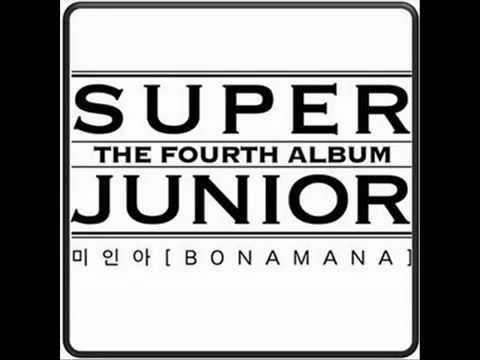 Super Junior - 미인아 [BONAMANA] The 4th Album FULL SONG + MP3 Link