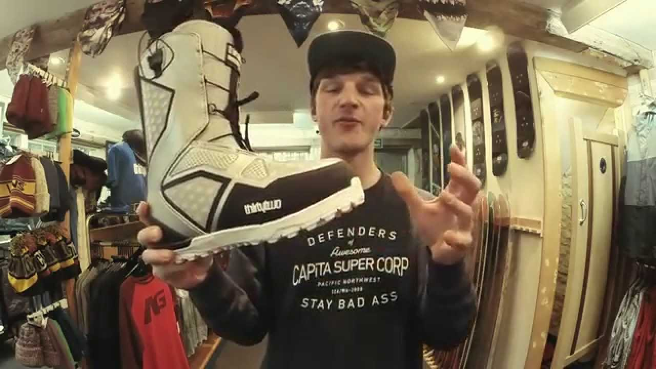 2015 Thirtytwo Ultralight 2 Snowboard Boot Review Youtube
