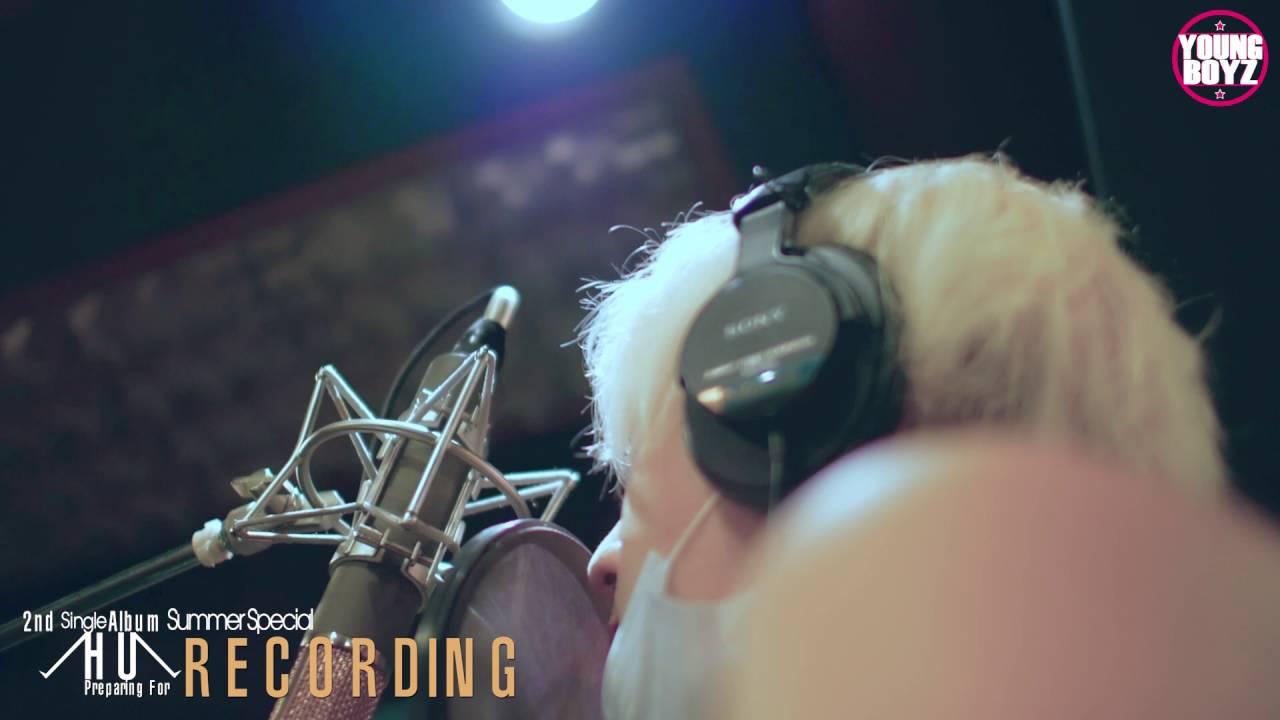 AFOS(아포스)_2nd Single Album_녹음스토리(HU VER.)_DLABEL(디레이블)_2016.07