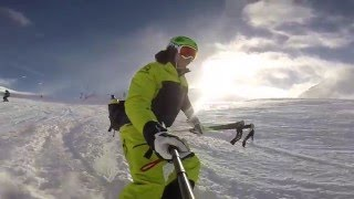 The progression of a beginner skier in a week   TIGNES 2016