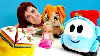 Для мальчиков и девочек -  Маша Капуки Кануки с куклами и машинками.