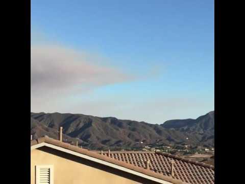 Sand Fire Burns Near Santa Clarita