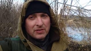 Охота с подсадной уткой на селезня весной ( бывает и так )