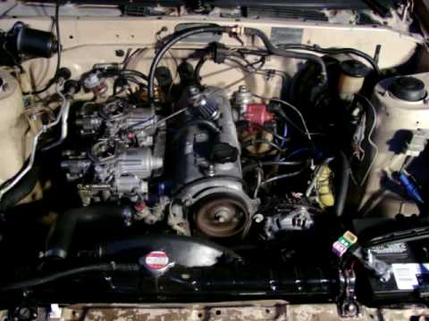 AE86 4AC, Toyota 4AC, with twin carburetor  YouTube