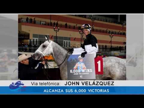 John Velazquez Llega a las 6 mil victorias - Entrevista - 11/30/18