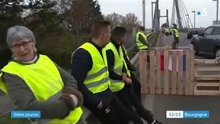 Gilets jaunes : le point en Saône-et-Loire à midi