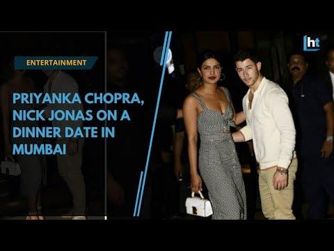 Watch: Priyanka Chopra, Nick Jonas on a dinner date in Mumbai