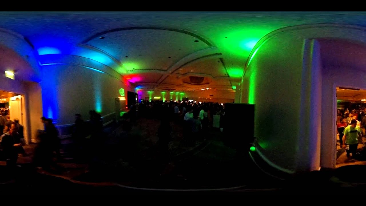 The NVidia GTC 15 party - 360 video
