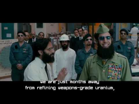 The Dictator (2012) - Nuclear Nadal - [Full Scene] poster