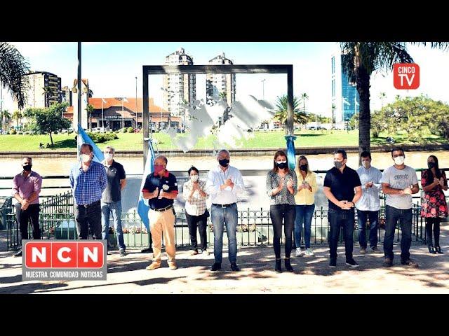 CINCO TV - La comunidad de Tigre rindió homenaje a ex combatientes de Malvinas